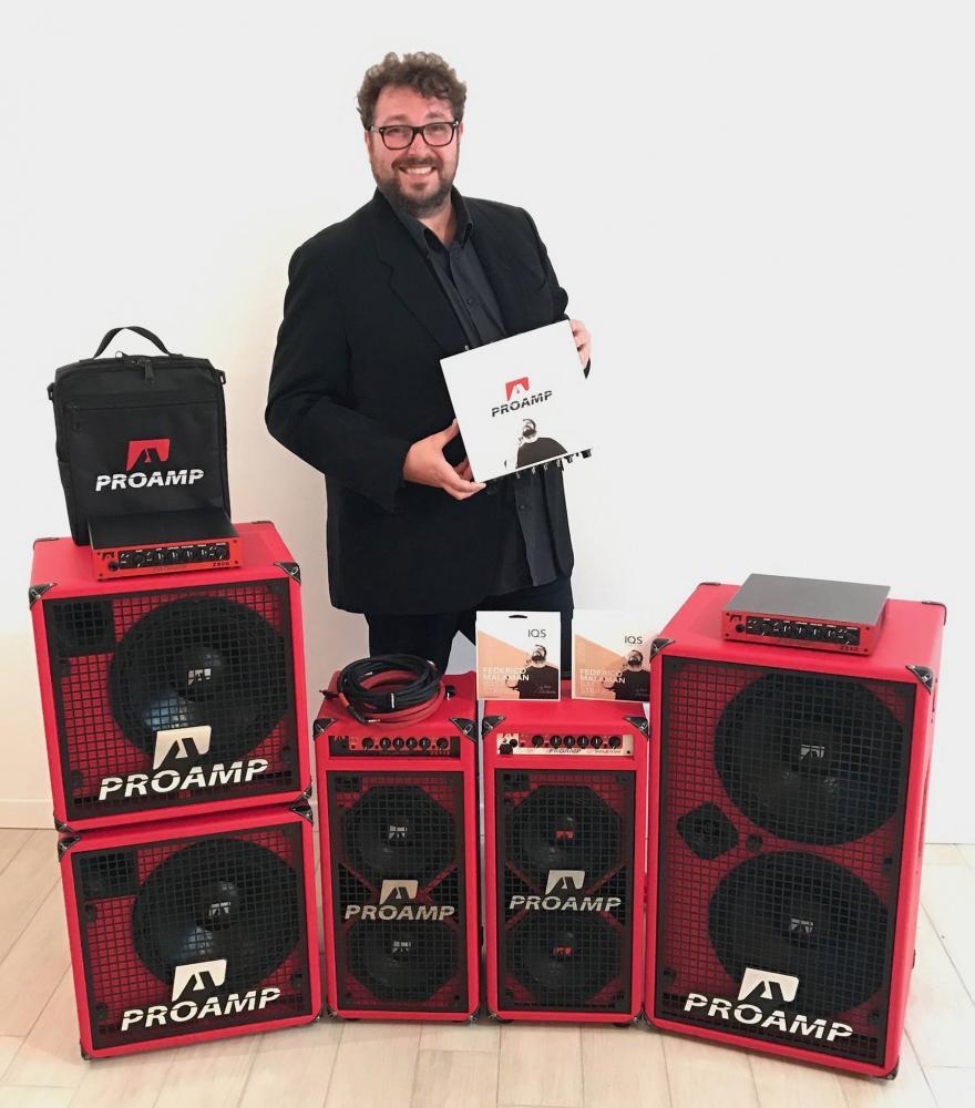 Federico Malaman: strumenti Signature e consapevolezza del suono