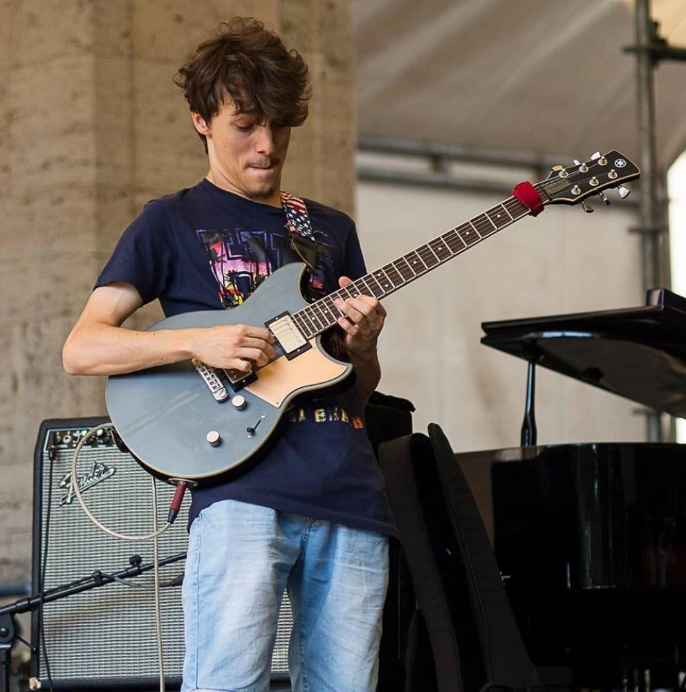 La chitarra perfetta di Matteo Mancuso