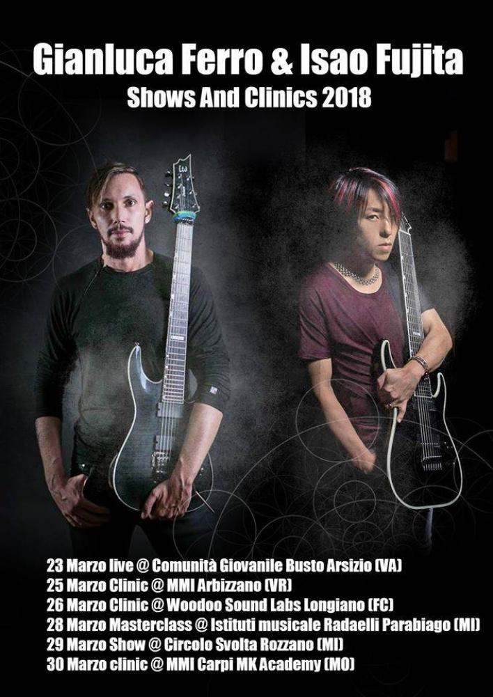 Otto corde, shred e collaborazioni a distanza