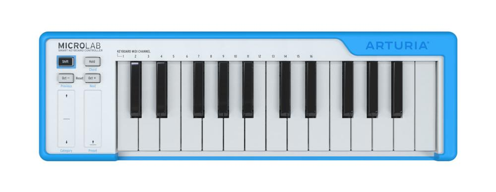 Nuovi key controller compatti Arturia MicroLab
