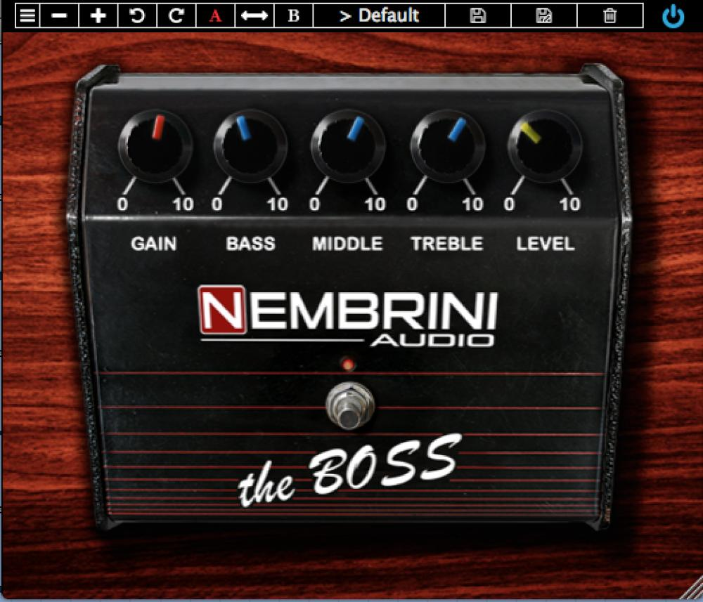 Arriva il novo The Boss plugin di Nembrini Audio