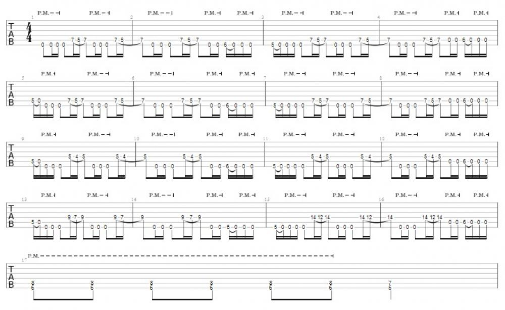 """Accordiani in Cattedra: Ritmiche """"Speed Metal"""" coi Metallica"""