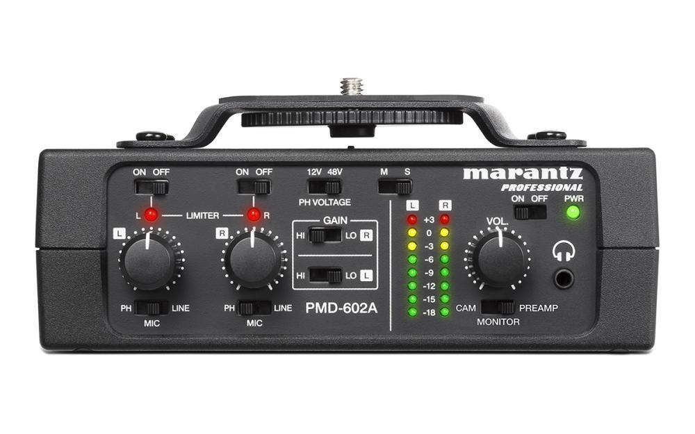 Marantz PMD-602A: professionalità a basso prezzo