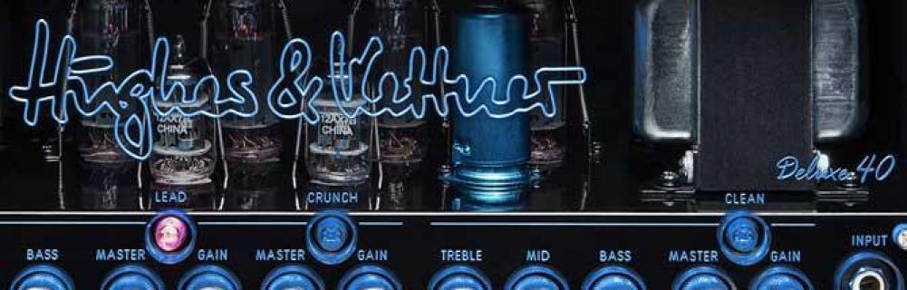 Tubemeister Deluxe 40, valvole e lucine