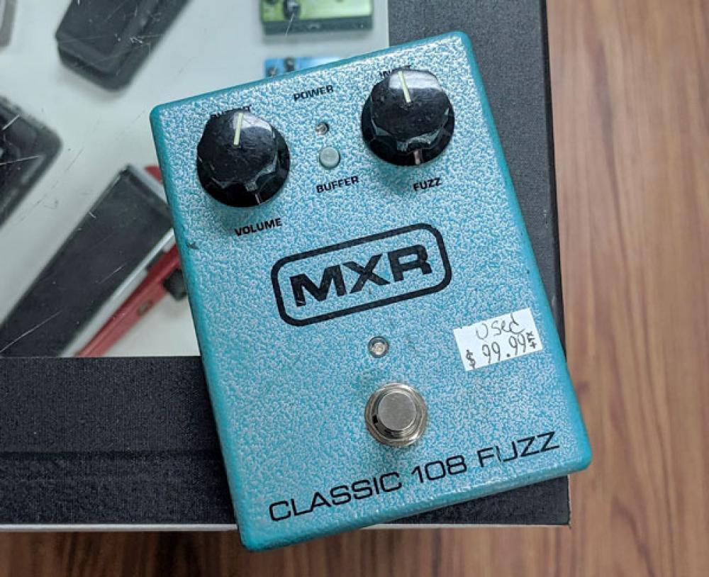 Bluesbreaker e MXR Classic 108 Fuzz