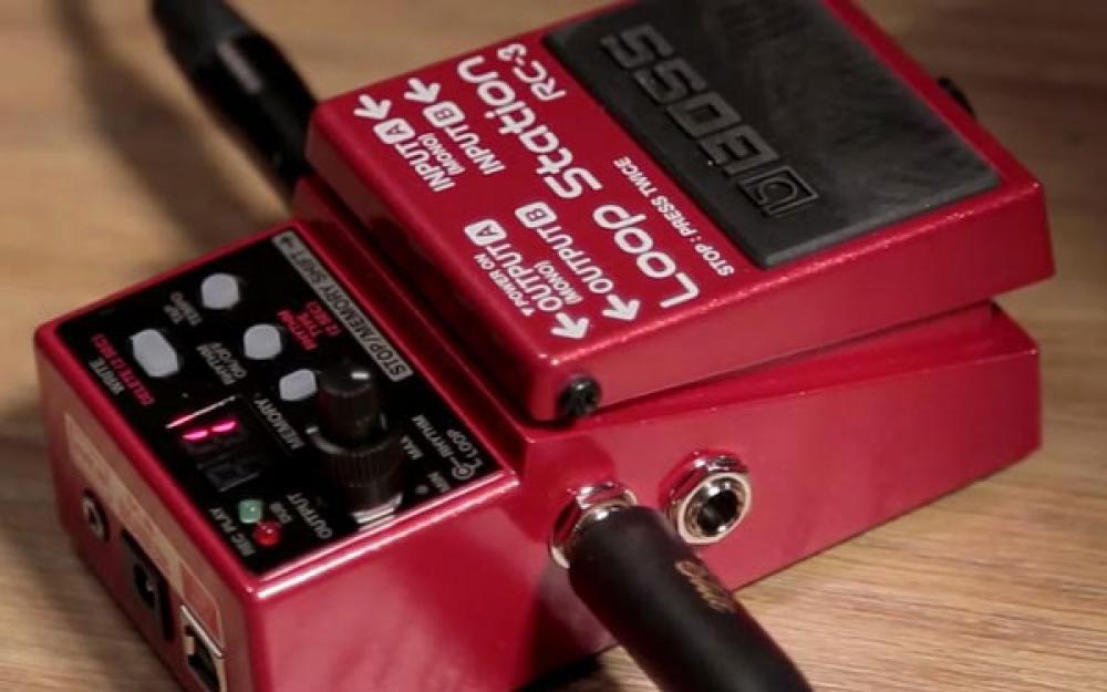 Registrare e rimandare il suono dell'ampli con un looper