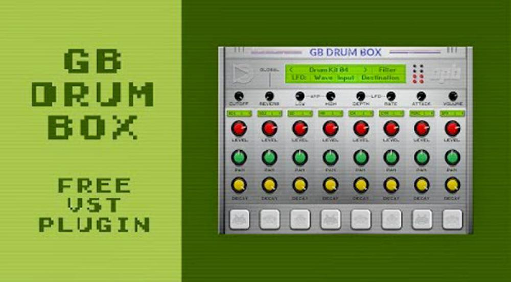 GB Drum Box, Game Boy formato plugin