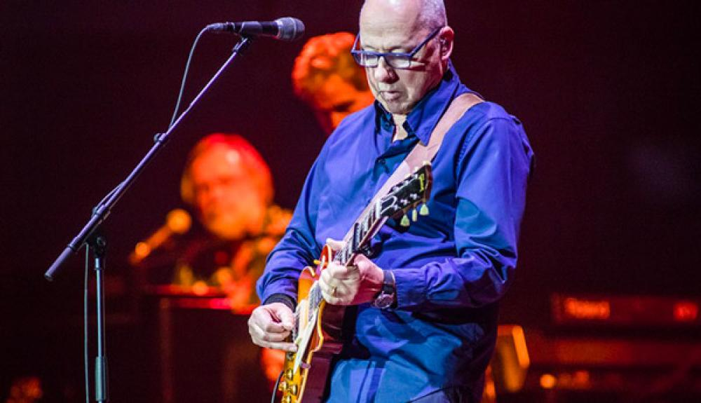 An evening with Mark Knopfler and his band