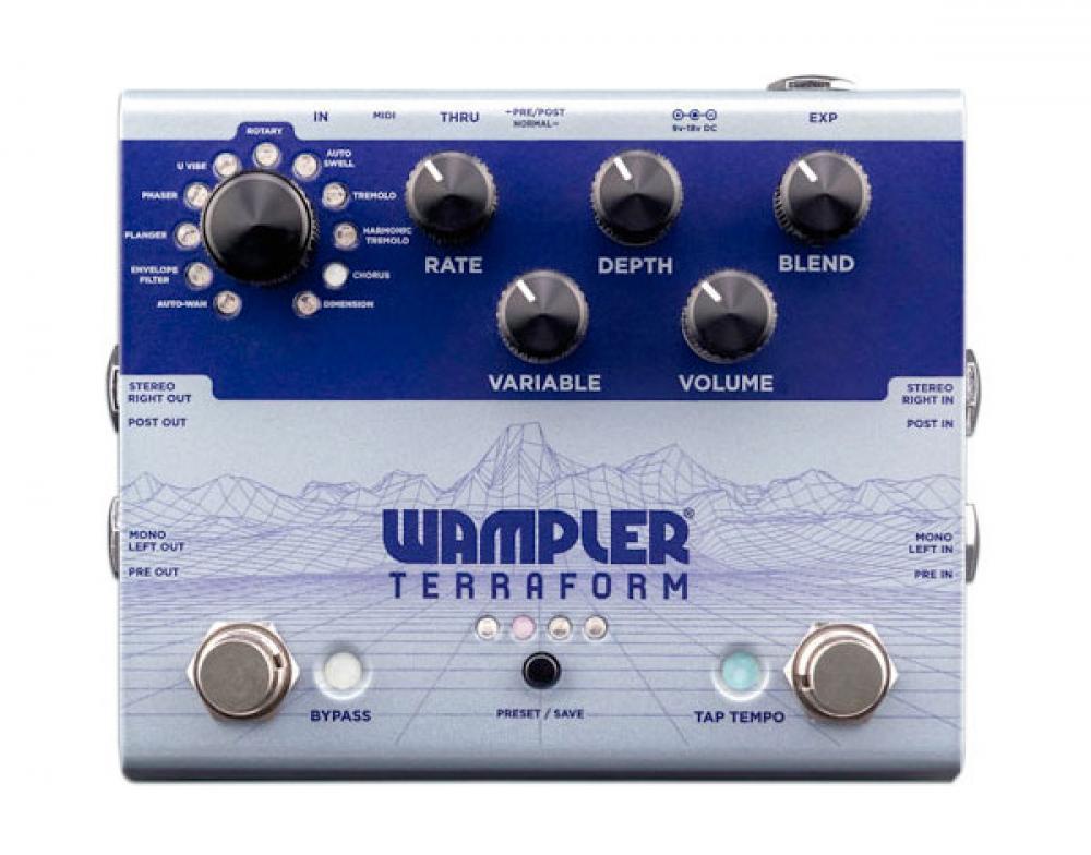 Arriva Terraform: la macchina da modulazioni Wampler