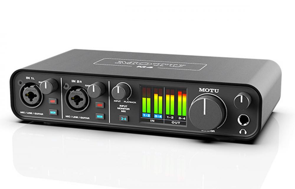 M2 e M4 sono le nuove interfacce USB C di MOTU