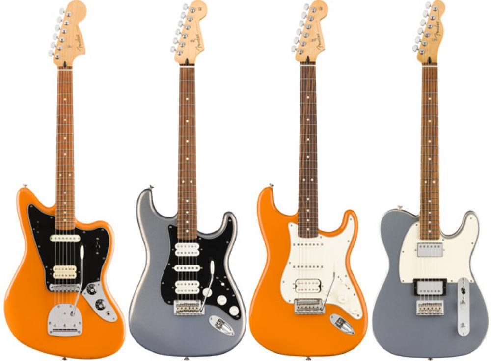 Fender Player: nuove finiture per le messicane