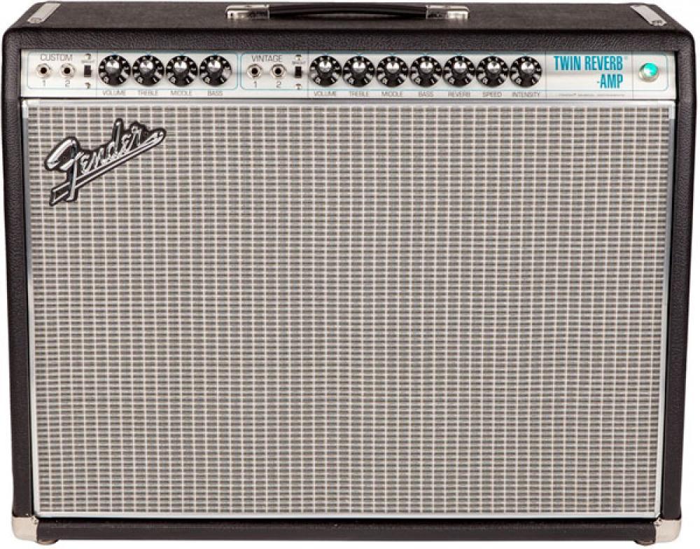 Fender Twin Reverb 1968 Drip Edge: l'epoca della transizione