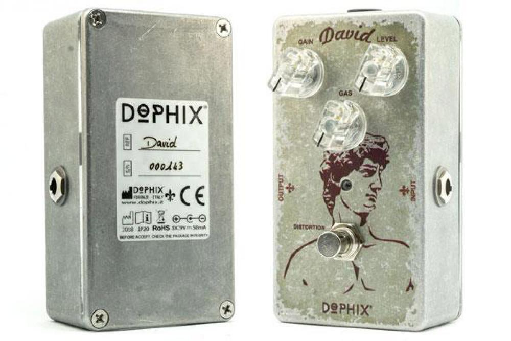 Dophix David: distorsore fuzz molto arrabbiato