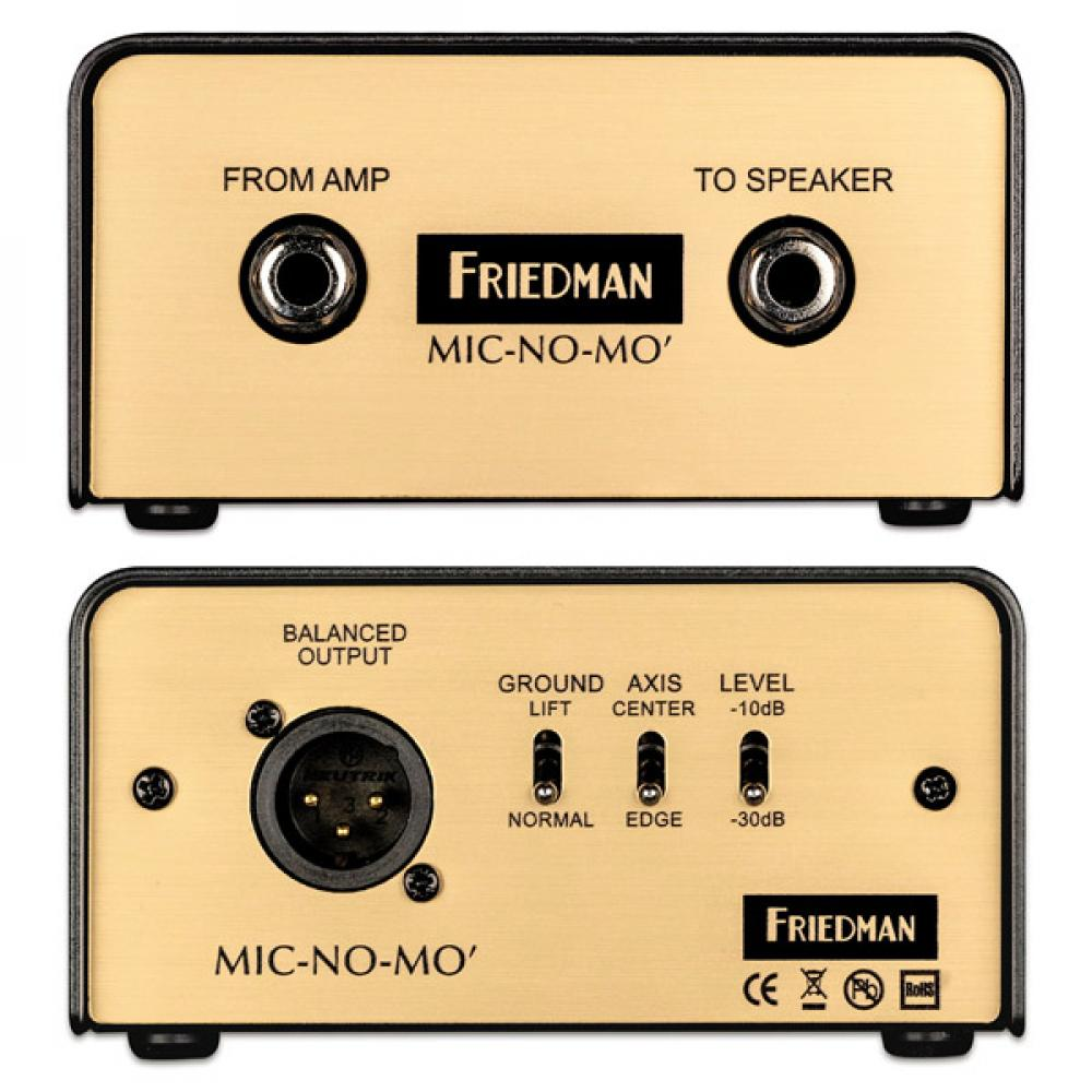 Mic-No-Mo: cab sim Friedman ora stand alone