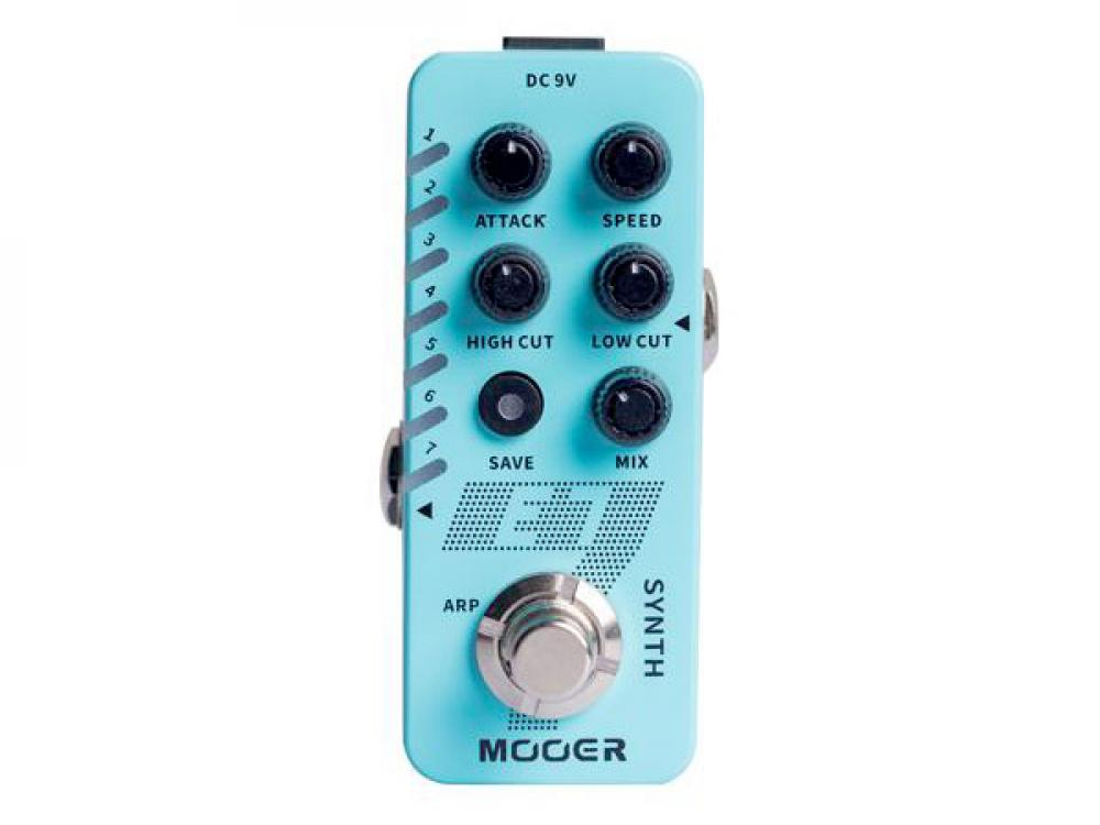 Mooer E7: synth polifonico tascabile
