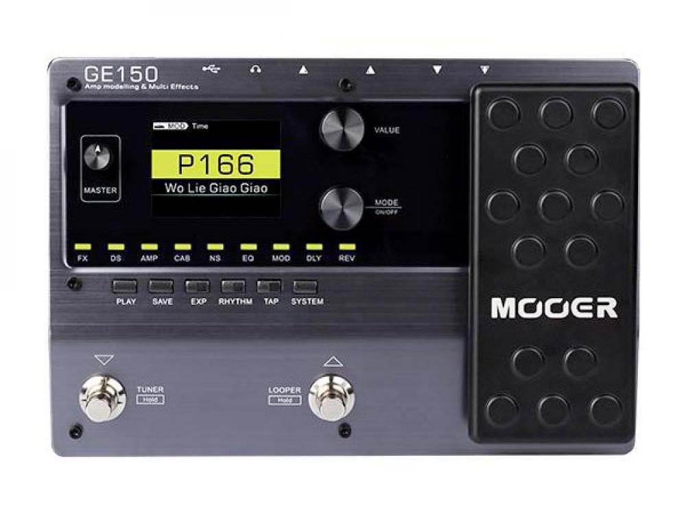 Mooer GE150: potenza trasportabile