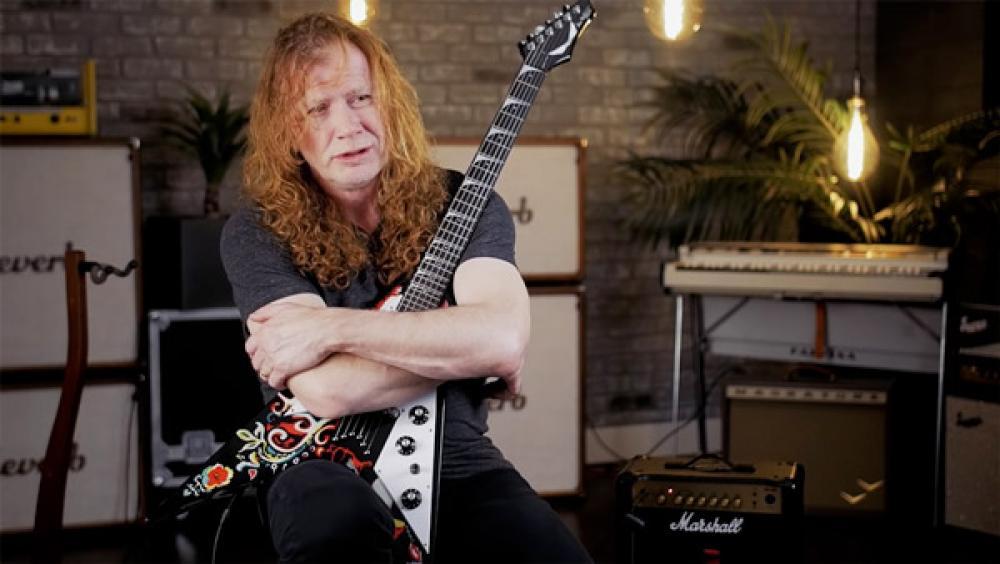 Un solo fan ha comprato quasi tutte le chitarre di Dave Mustaine