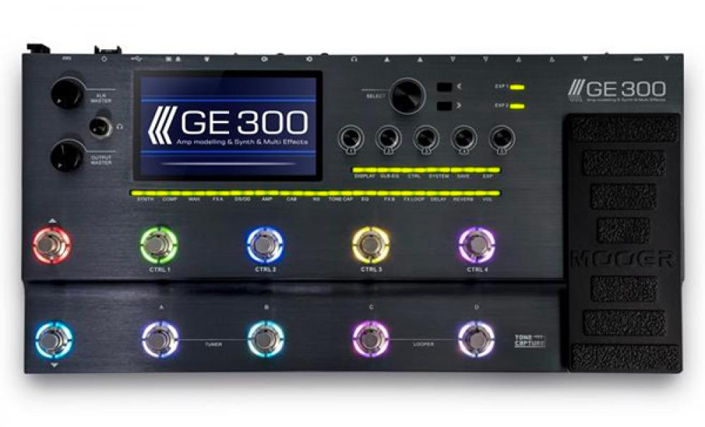 Mooer GE300: multifx e synth con Tone Capture
