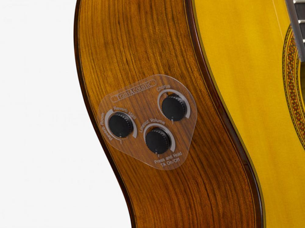 Yamaha CG-TA: vere vibrazioni