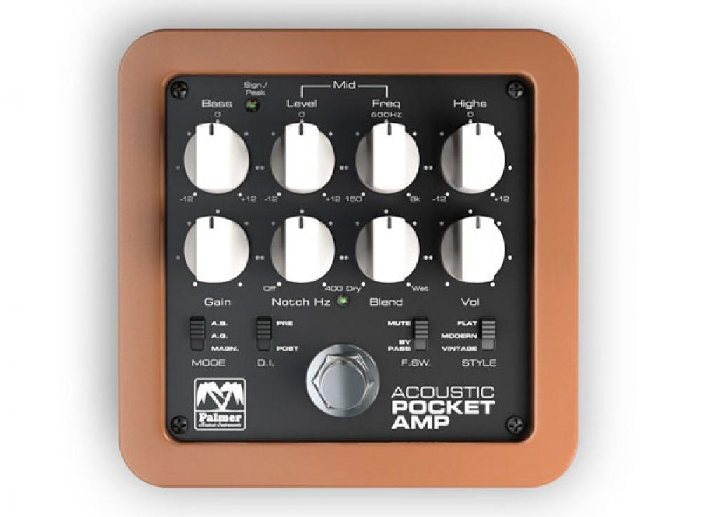 Palmer Acoustic Pocket Amp: coltellino svizzero per l'acustica