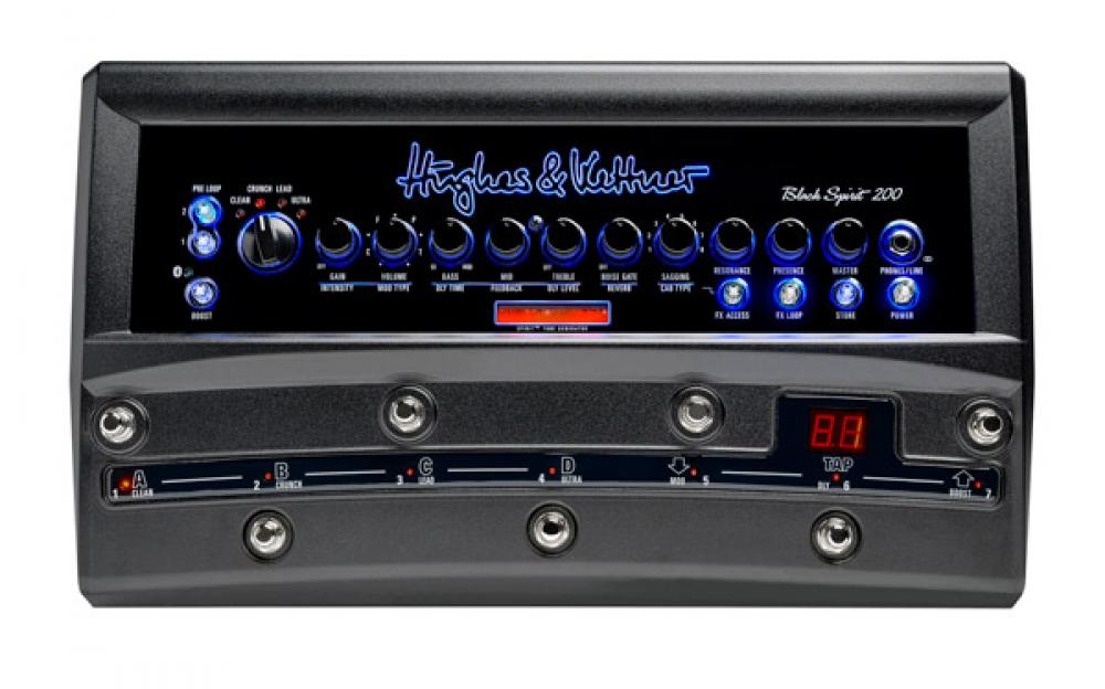 Black Spirit 200 Floor: ampli da pedaliera analogico e programmabile