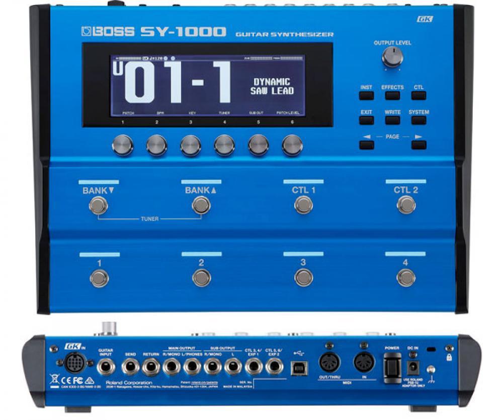 SY-1000: Boss porta il guitar-synth al livello successivo