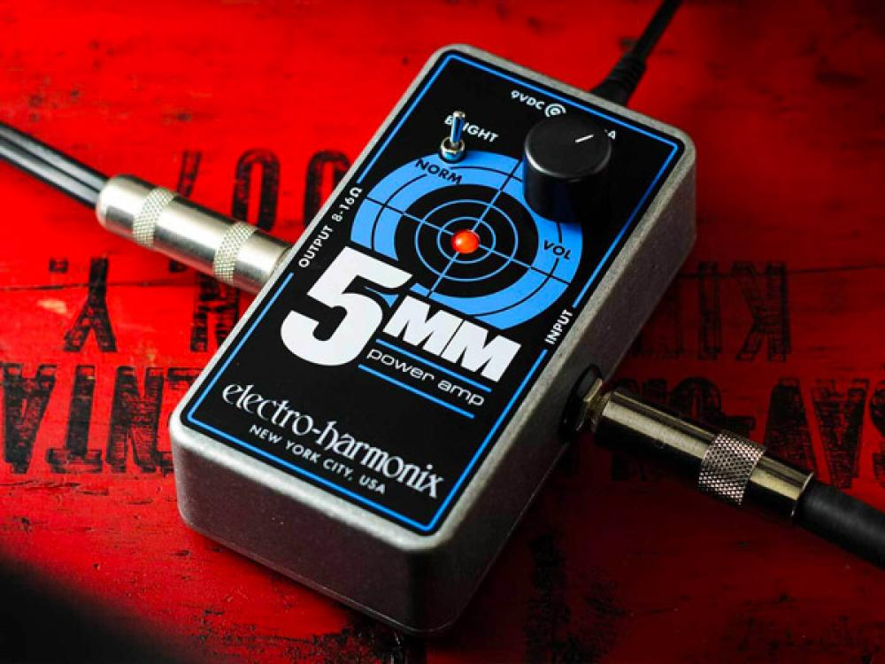 5MM: ampli in miniatura da EHX