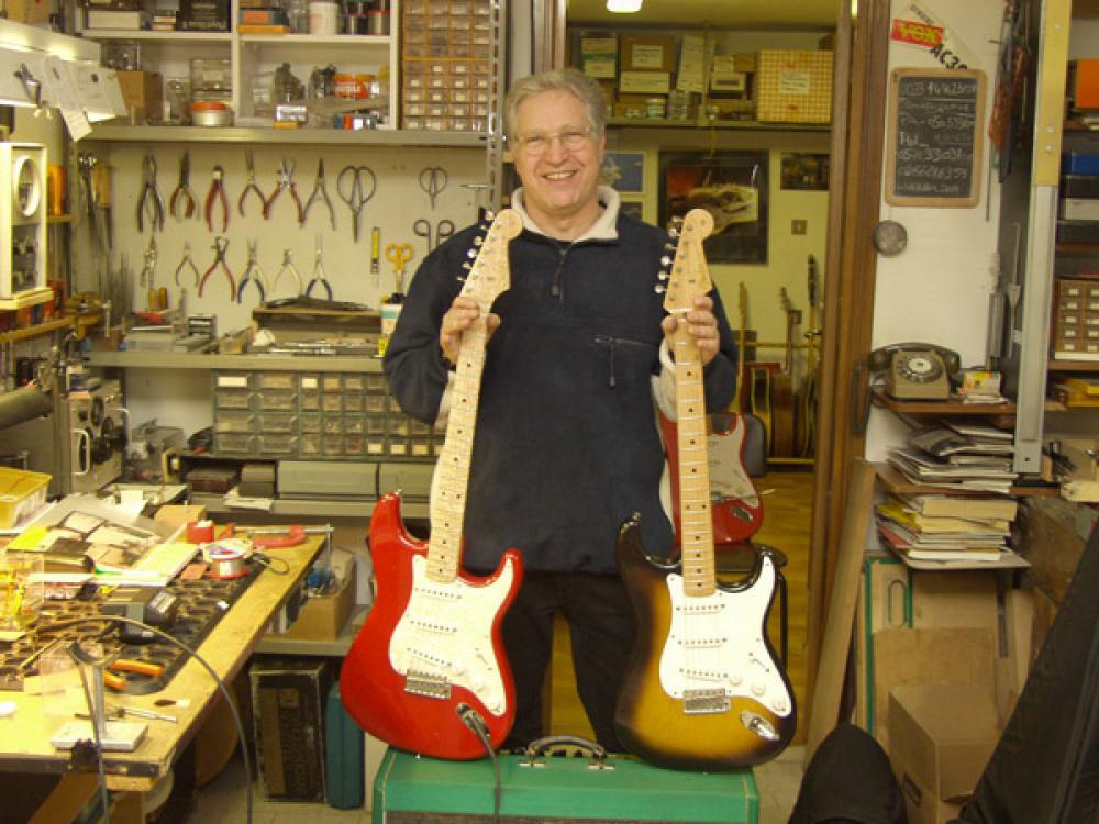 Roberto Pistolesi sul cammino di Leo Fender