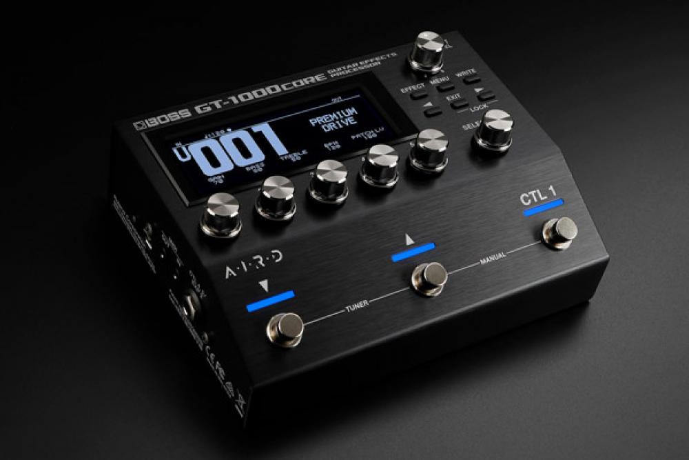 GT-1000 Core: multi-fx Boss più compatto e potente che mai