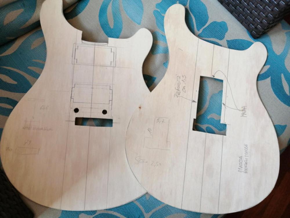 Il mio progetto di chitarra