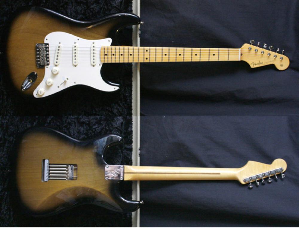 La Stratocaster 1957 sunburst di Eric Johnson