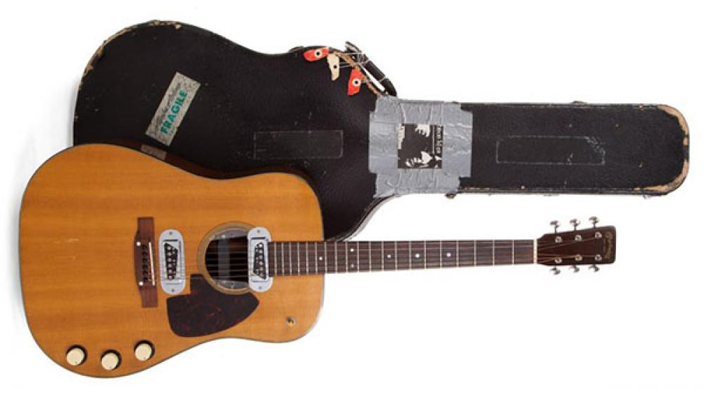 Venduta la Martin di Kurt Cobain: è la chitarra più costosa al mondo