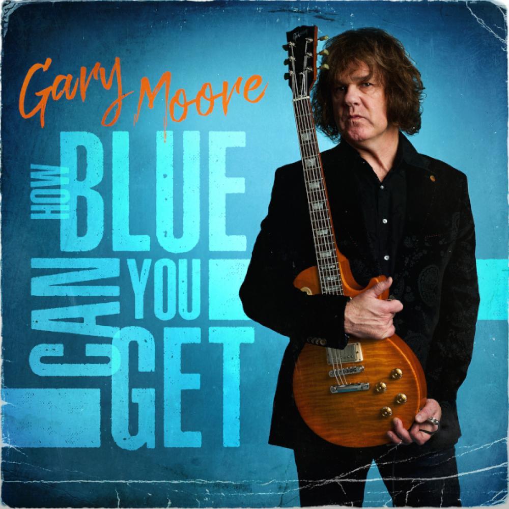 """How Blue Can You Get"" gli inediti di Gary Moore in uscita ad aprile"