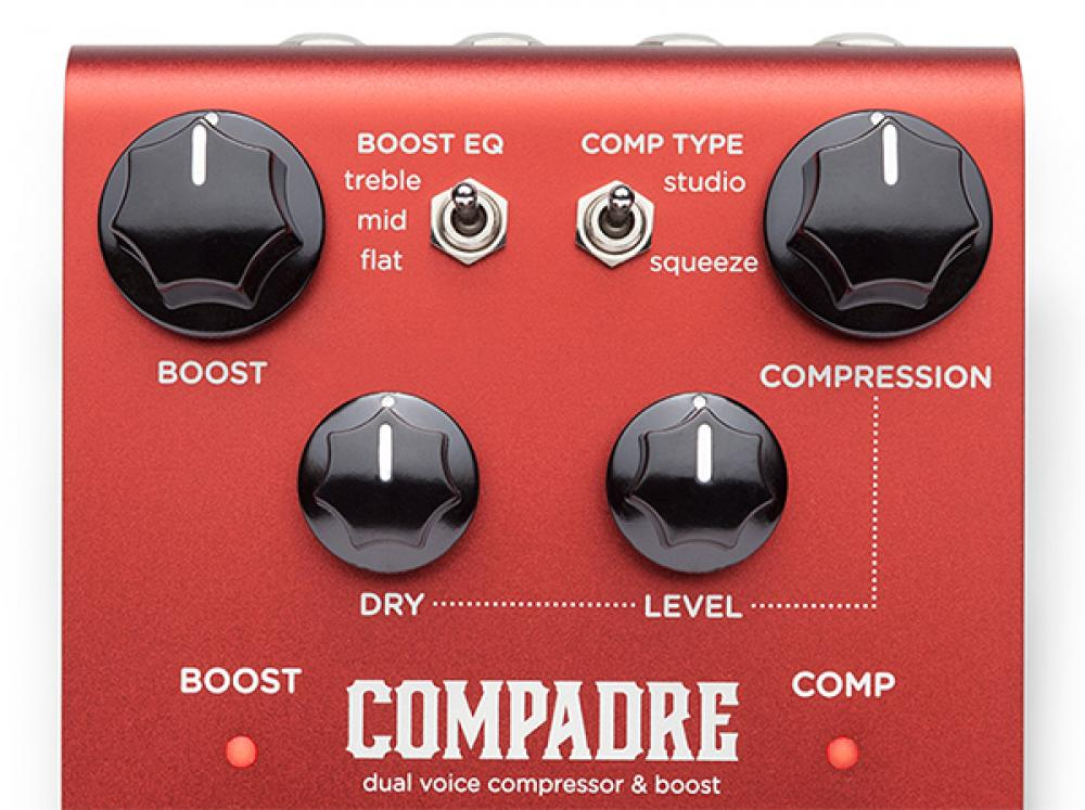 Strymon Compadre: boost comp analogico a controllo digitale