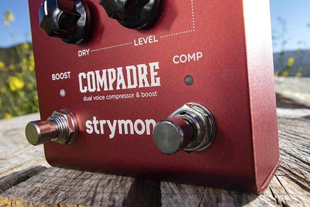 Strymon Compadre: boost comp analogico a controllo digitale