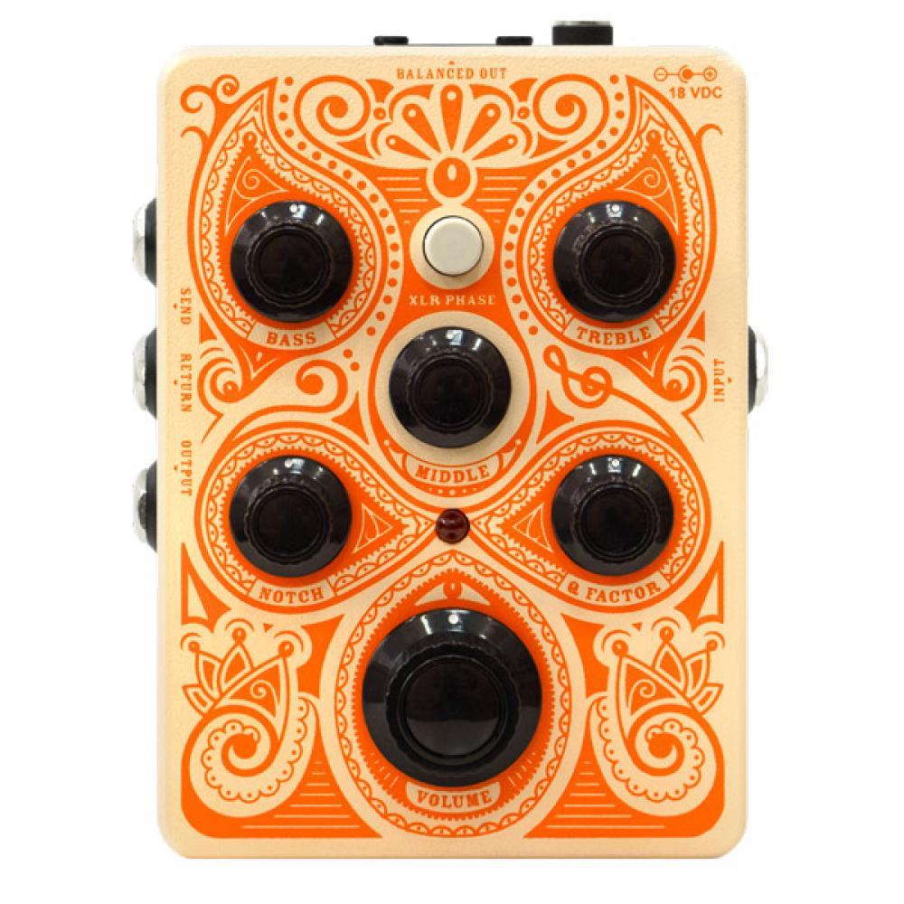 Acoustic Pedal: preamplificatore Orange in pedaliera