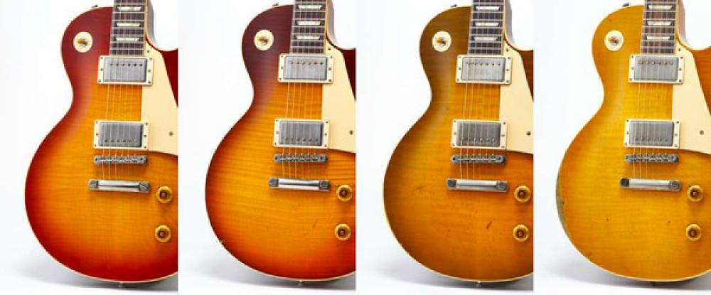Le Gibson Custom Murphy Lab sono qui