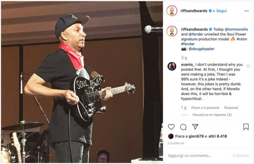 È in arrivo la prima signature di Tom Morello?