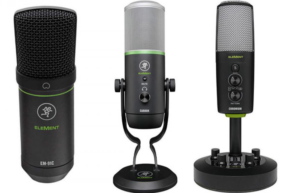 EleMent Series: i microfoni USB di Mackie