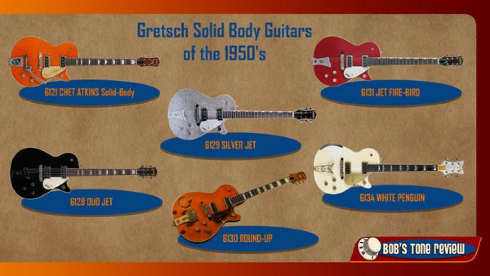 Gretsch: Duo Jet e le altre solid body anni '50