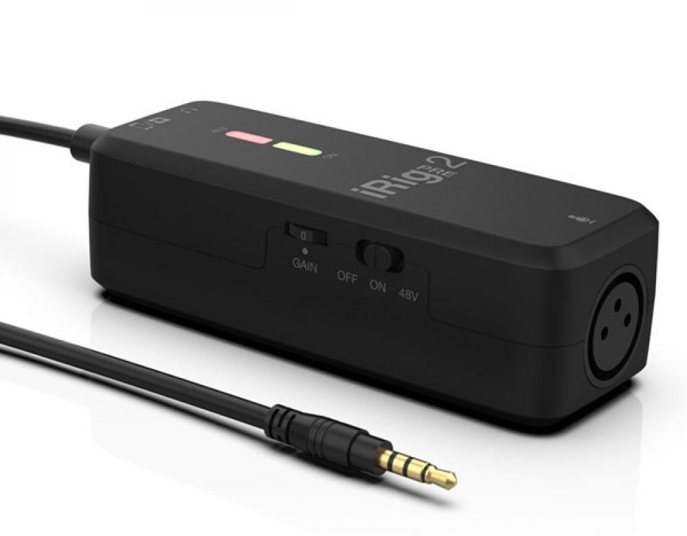 iRig Pre 2: preamplificatore microfonico portatile per creator moderni