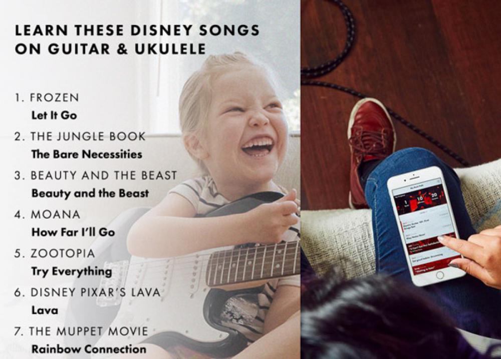 Impara le canzoni Disney con i più piccoli