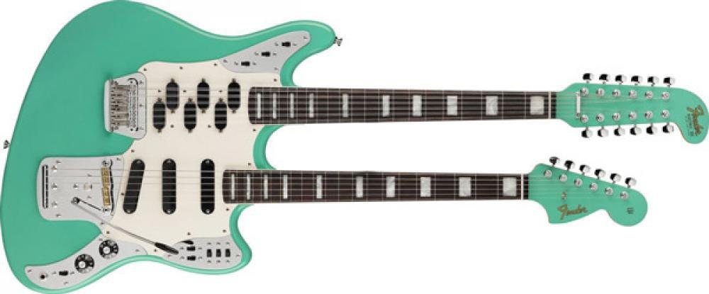 Dentro la Double Neck Marauder del Fender Custom Shop