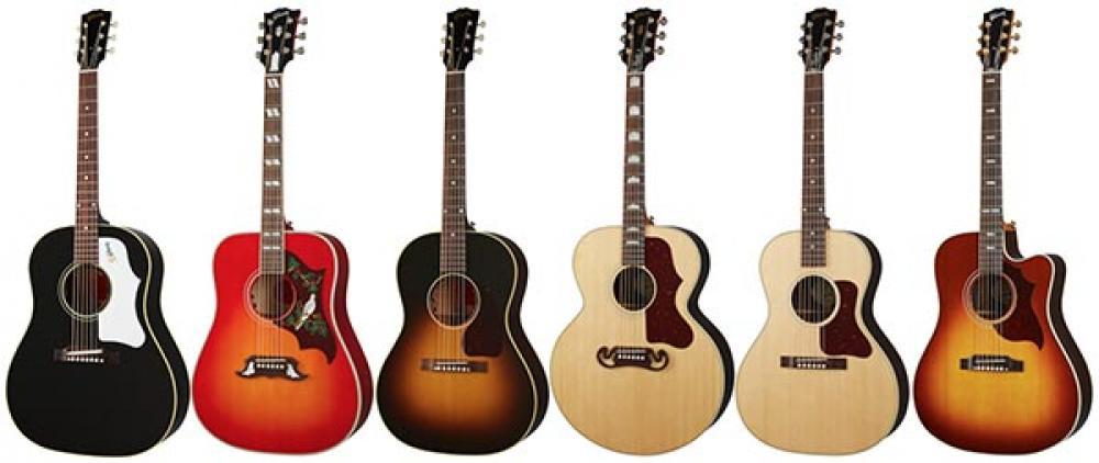 Tutta la gamma acustica Gibson 2020 in video