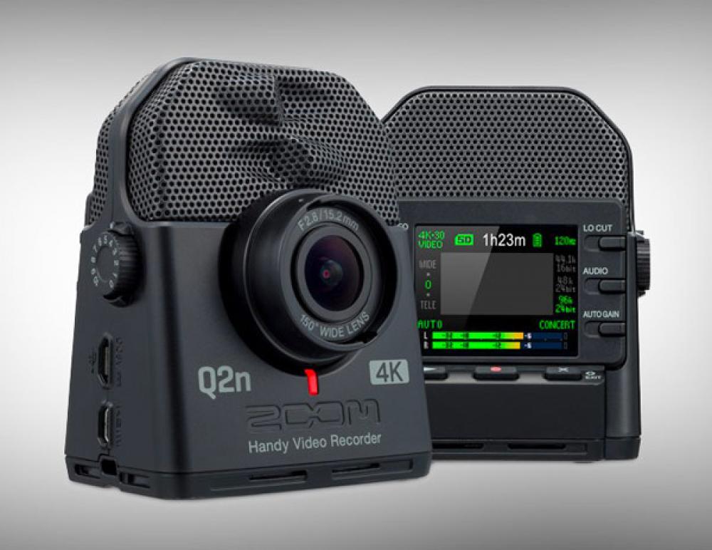Zoom Q2n4K: webcam tuttofare