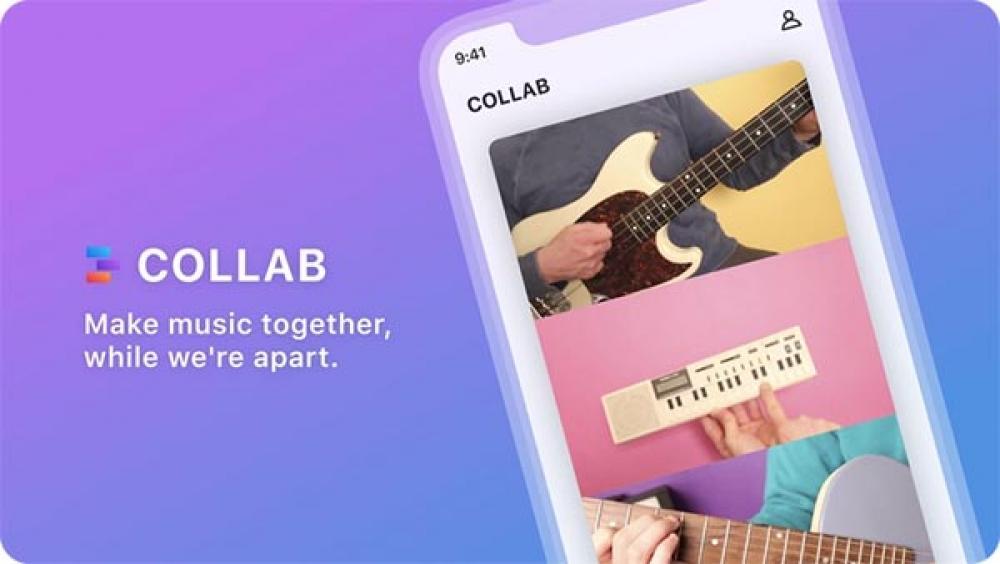 Collab: da Facebook l'app musicale anti TikTok