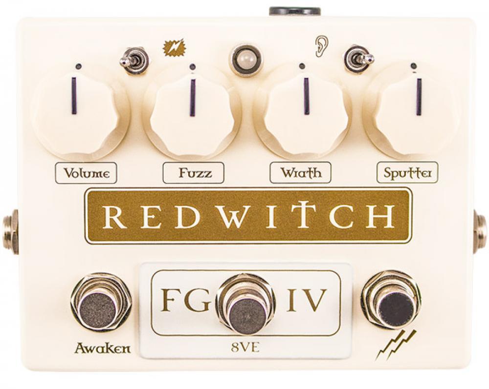 Red Witch Fuzz God IV: distorsione, ottave e oscillazioni in pedaliera