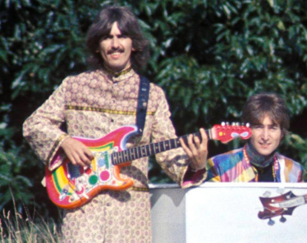 Rocky: la Strat psichedelica di George Harrison