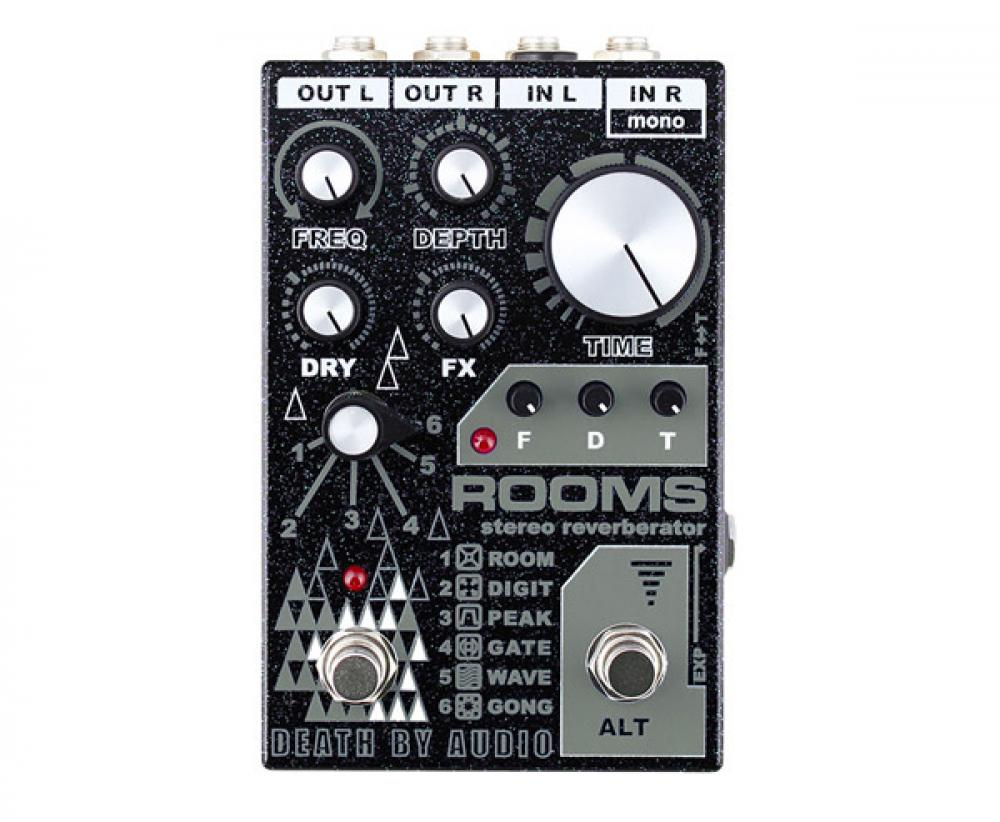Death By Audio: Rooms Stereo Reverberator