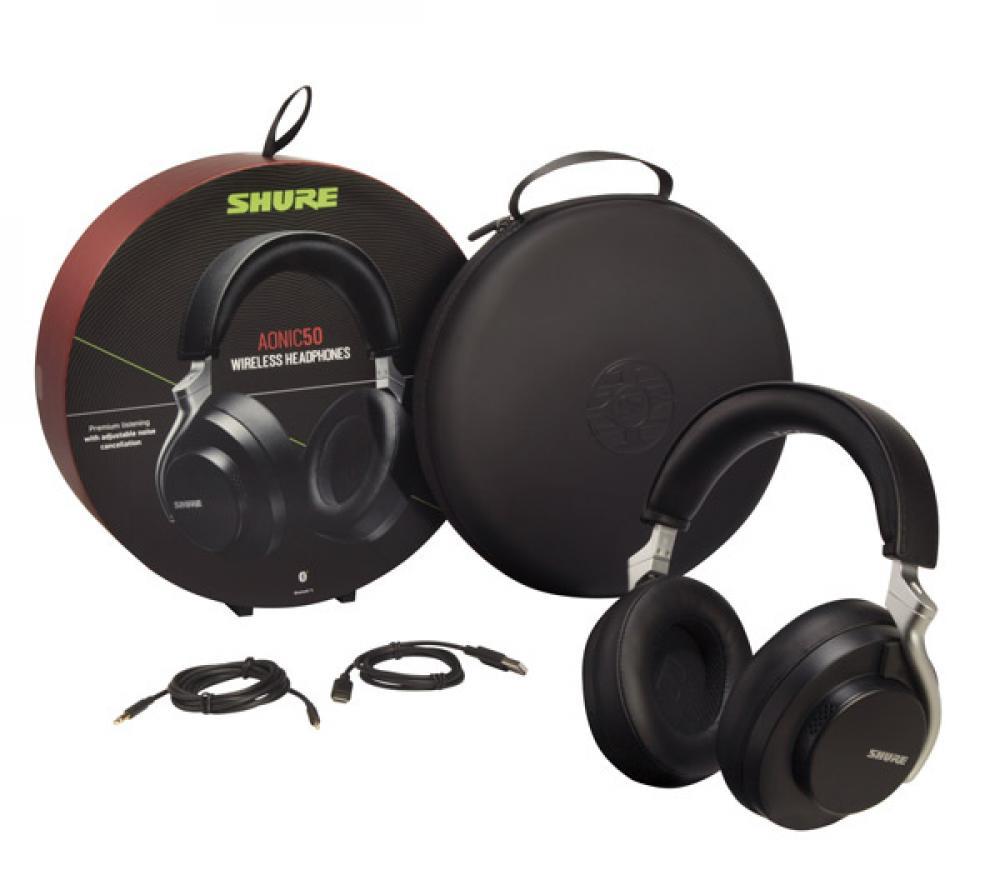 Shure insieme per nuove cuffie wireless Aonic